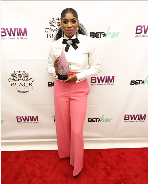 Black Women In Media Honoree